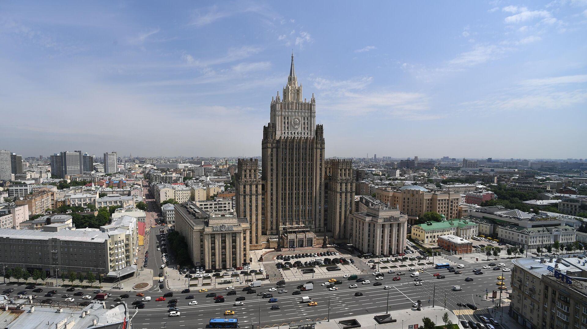 Здание Министерства иностранных дел России - РИА Новости, 1920, 22.08.2020