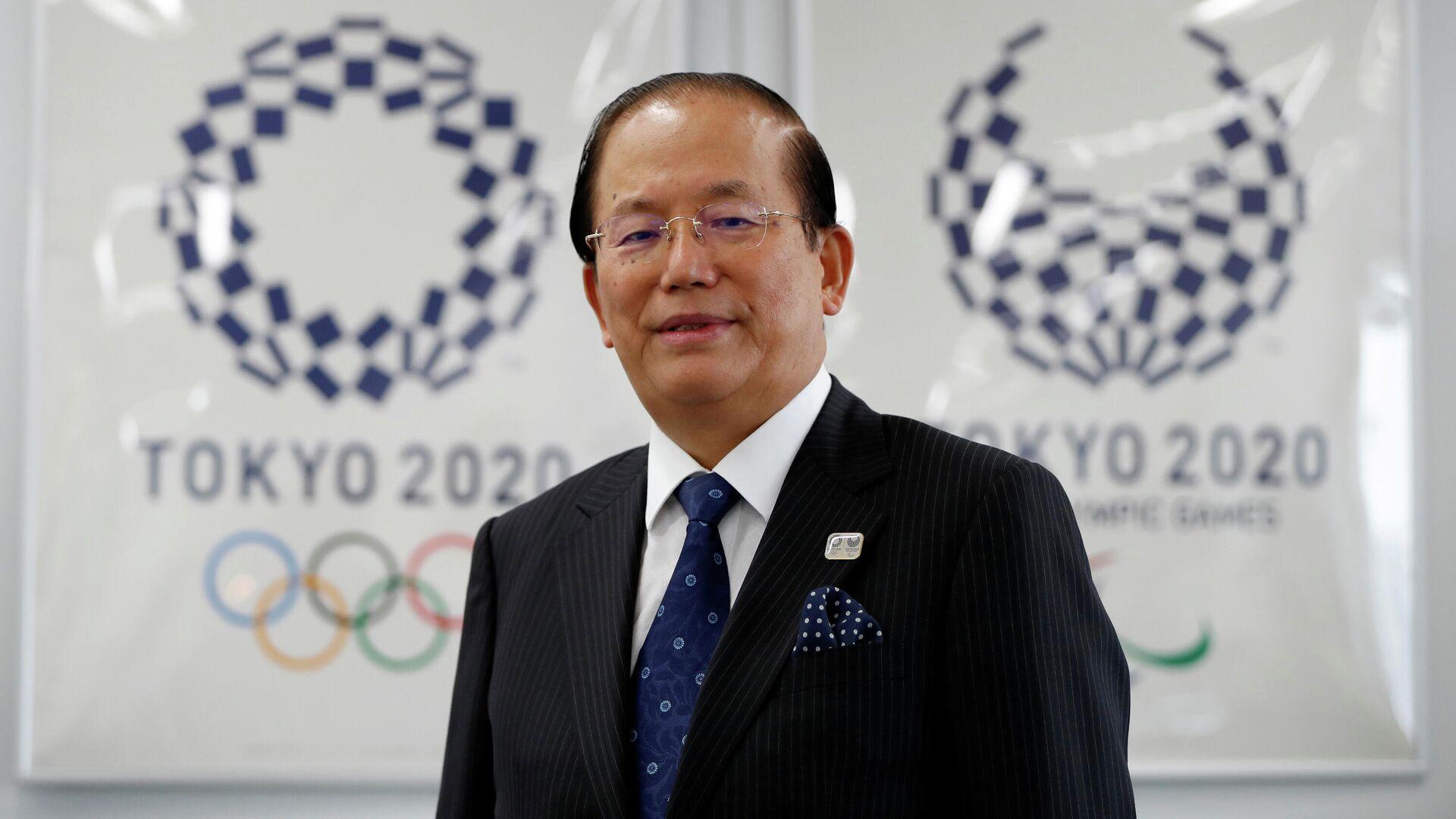 Исполнительный директор оргкомитета Олимпийских игр 2020 года в Токио Тосиро Муто - РИА Новости, 1920, 22.07.2020
