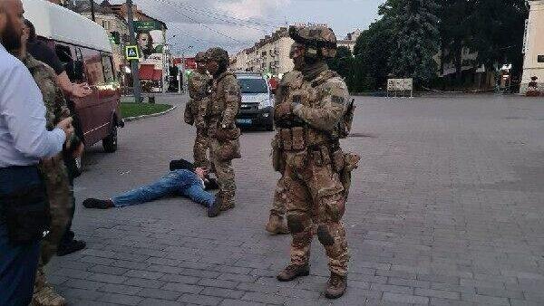 Задержанный в Луцке террорист