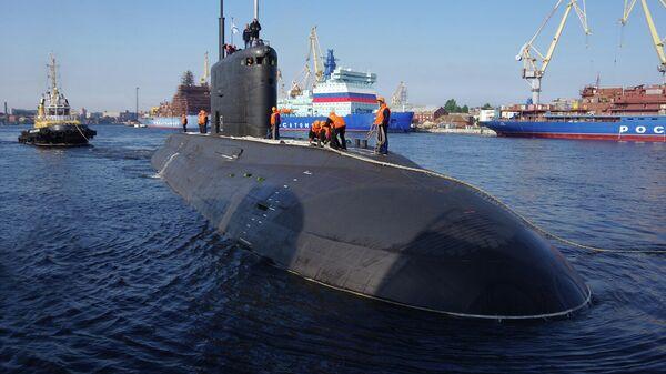 Большая дизель-электрическая подводная лодка Волхов