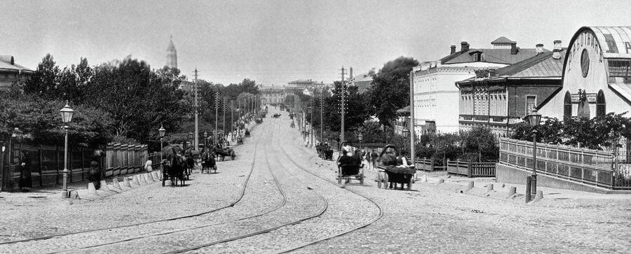 Садовая улица в Москве