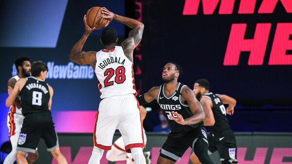 Контрольный матч НБА между Майами Хит и Сакраменто Кингз