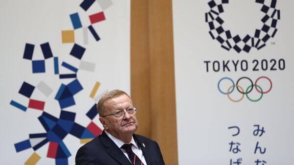 Член Международного олимпийского комитета Джон Коутс