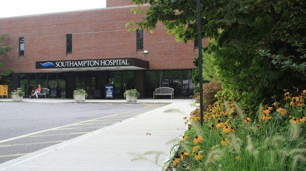 Больница Стоуни-Брук в Саутгемптоне в Нью-Йорке