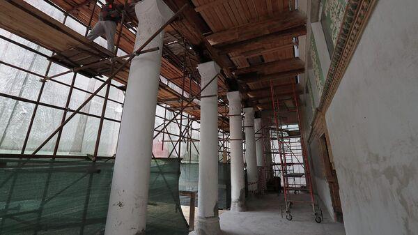 Реставрация павильона Микробиологическая промышленность на ВДНХ