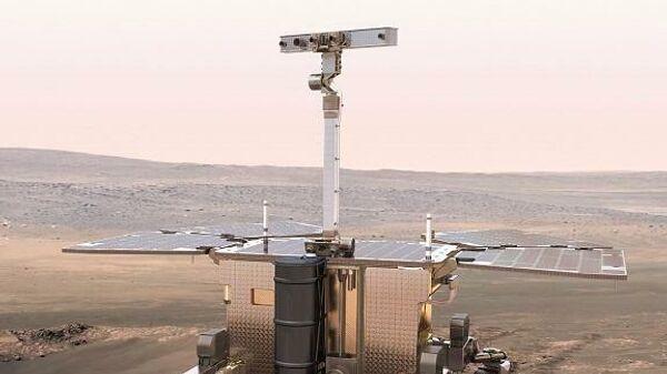 Марсоход Rosalind Franklin ЕКА и Роскосмоса проведет бурение на 2 метра ниже поверхности Марса в поисках признаков жизни