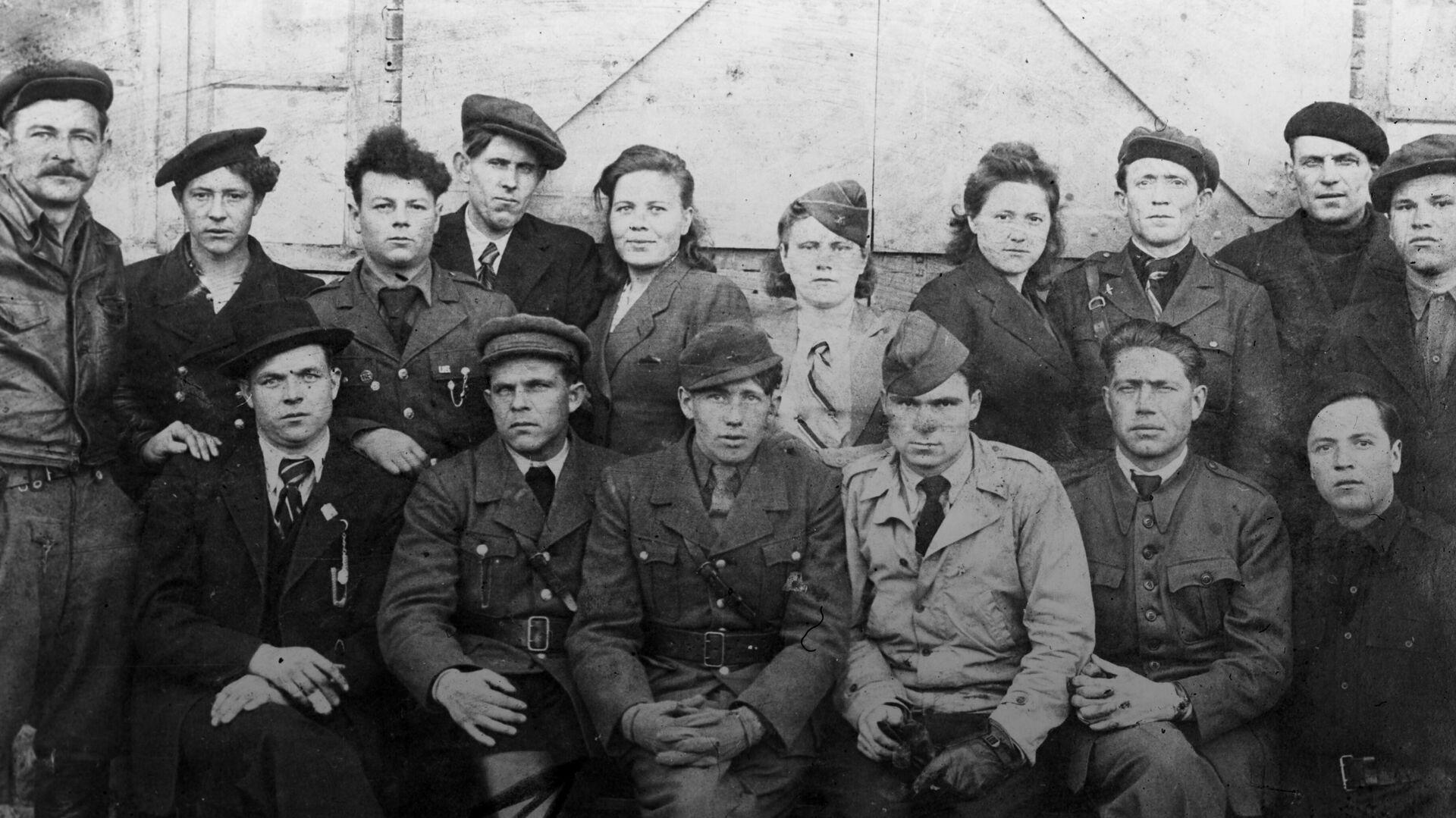 Советские партизаны в рядах французского Движения Сопротивления - РИА Новости, 1920, 03.08.2020