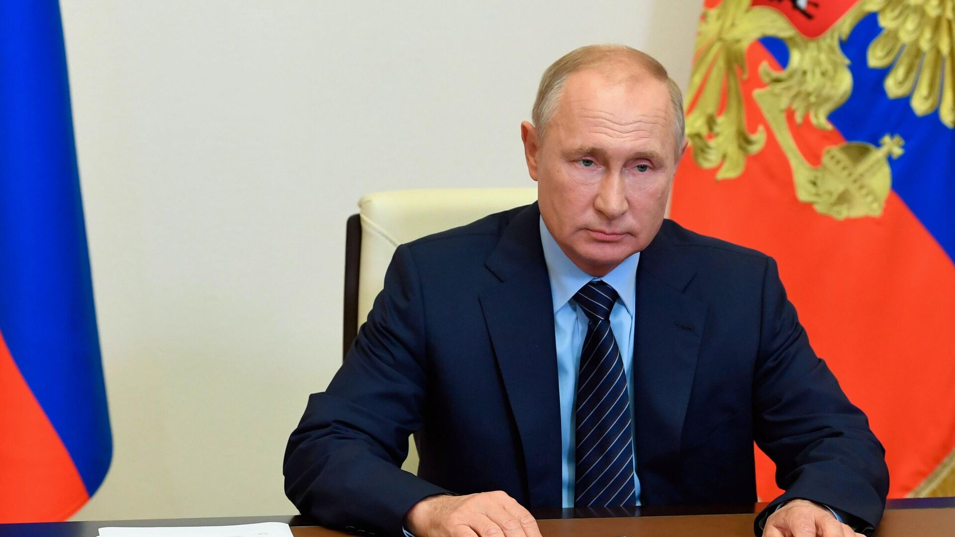 Президент РФ Владимир Путин - РИА Новости, 1920, 30.07.2020