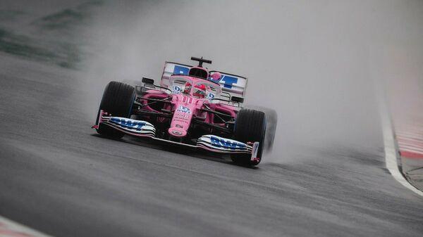 Пилот Формулы-1 Серхио Перес во время гонки Гран-при Венгрии