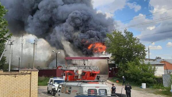 Пожар в Дзержинске