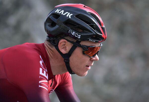 Велогонщик Крис Фрум