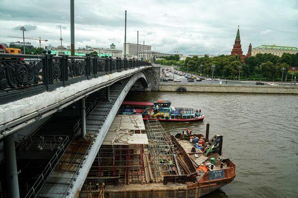 Капитальный ремонт Большого Каменного моста