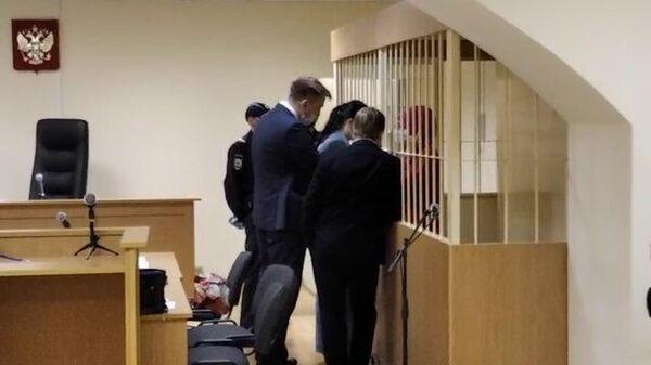 Жена погибшего рэпера в суде на слушании по аресту