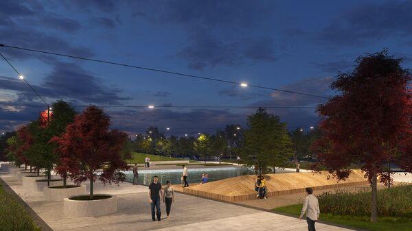 Проект парка в Раменках