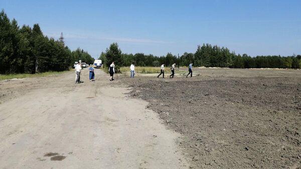 Рекультивированный объект накопленного вреда в поселке Федоровском Сургутского района ХМАО