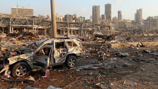 К месту взрыва в Бейруте стягивают армейские подразделения - РИА Новости,  04.08.2020