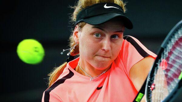 Самсонова пробилась во второй круг турнира в Палермо