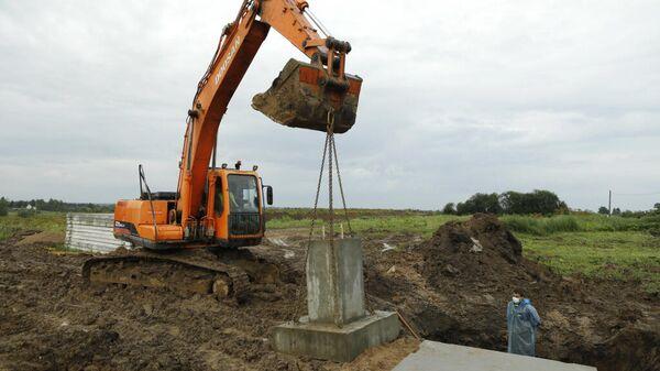 Старт строительства роботизированной молочной фермы в поселке Васильевское Вологодского района