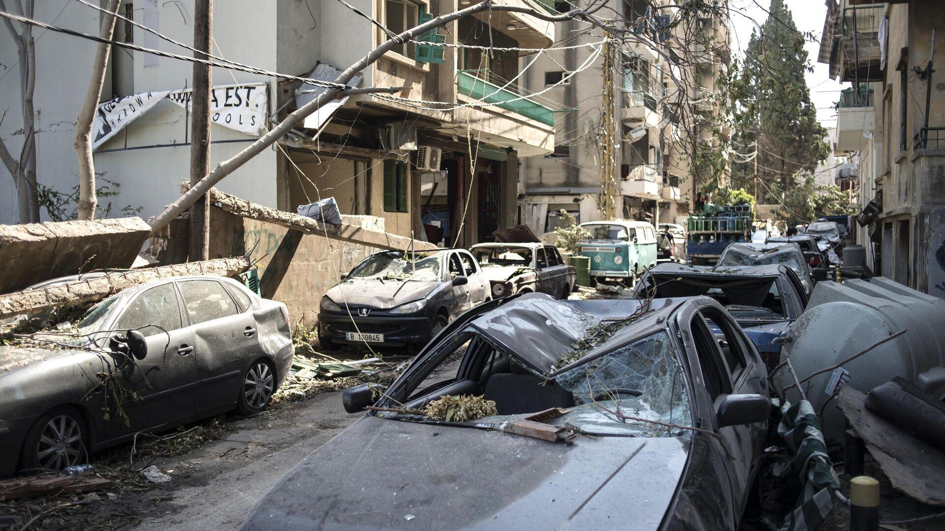 Последствия взрыва в Ливане  - РИА Новости, 1920, 04.09.2020