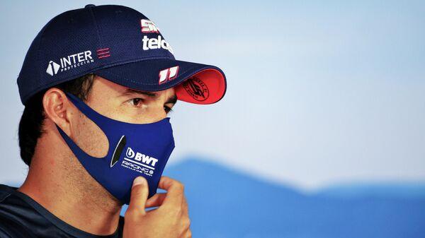 Пилот команды Формулы-1 Рейсинг Пойнт Серхио Перес
