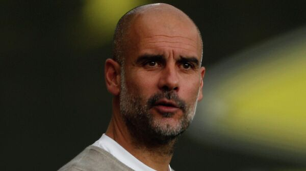 лавный тренер Манчестер Сити Хосеп Гвардиола