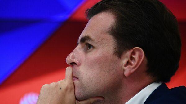 Директор по маркетингу и коммуникациям Российской премьер-лиги Евгений Савин