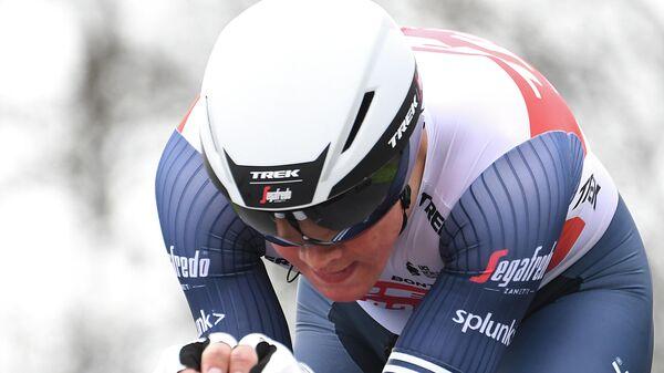 Велогонщик команды Trek-Segafredo Мадс Педерсен (Дания)