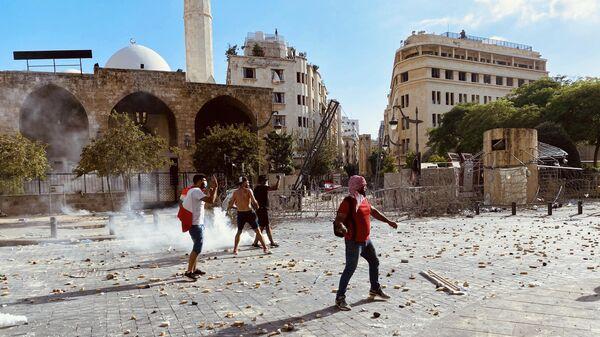 Военные освободили здание МИД в Бейруте от протестующих