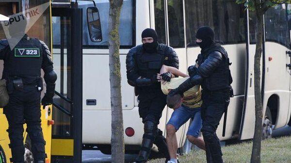 Задержания в Минске. 10 августа 2020