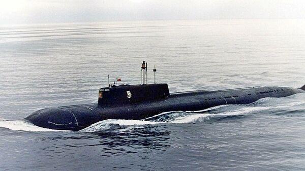 АПЛ Курск в Баренцевом море