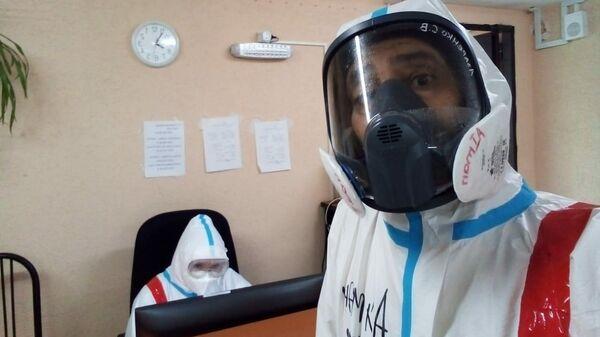Врач 40-й больницы Петербурга Абу Айда Айман Шихда Мухаммад