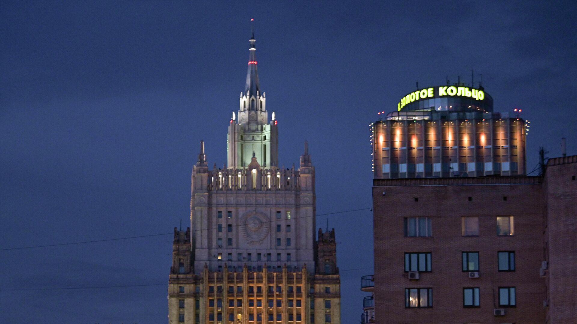 Здание министерства иностранных дел Российской Федерации - РИА Новости, 1920, 19.09.2020
