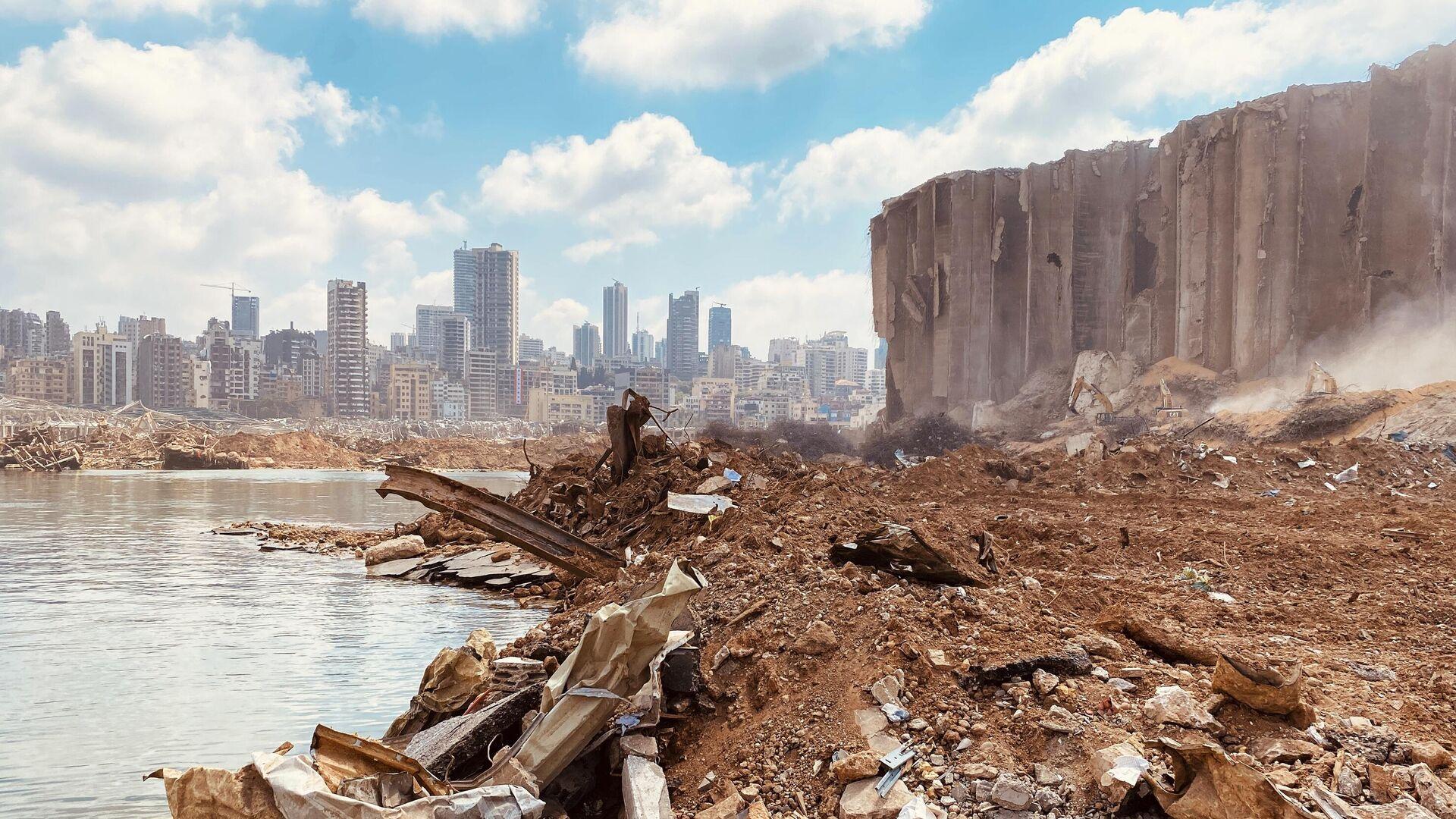 Последствия взрыва в порту Бейрута - РИА Новости, 1920, 09.04.2021