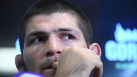 Пресс-конференция чемпиона UFC Х. Нурмагомедова