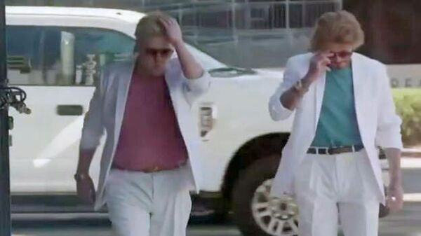 """Дэвид Бекхэм рассмешил Сеть, повторив образ актеров из """"Полиции Майами"""""""