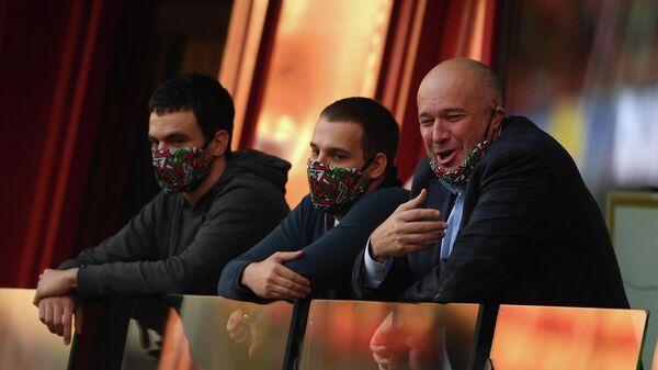 Генеральный директор ФК Локомотив Василий Кикнадзе