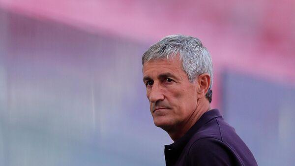 Главный тренер Барселоны Кике Сетьен