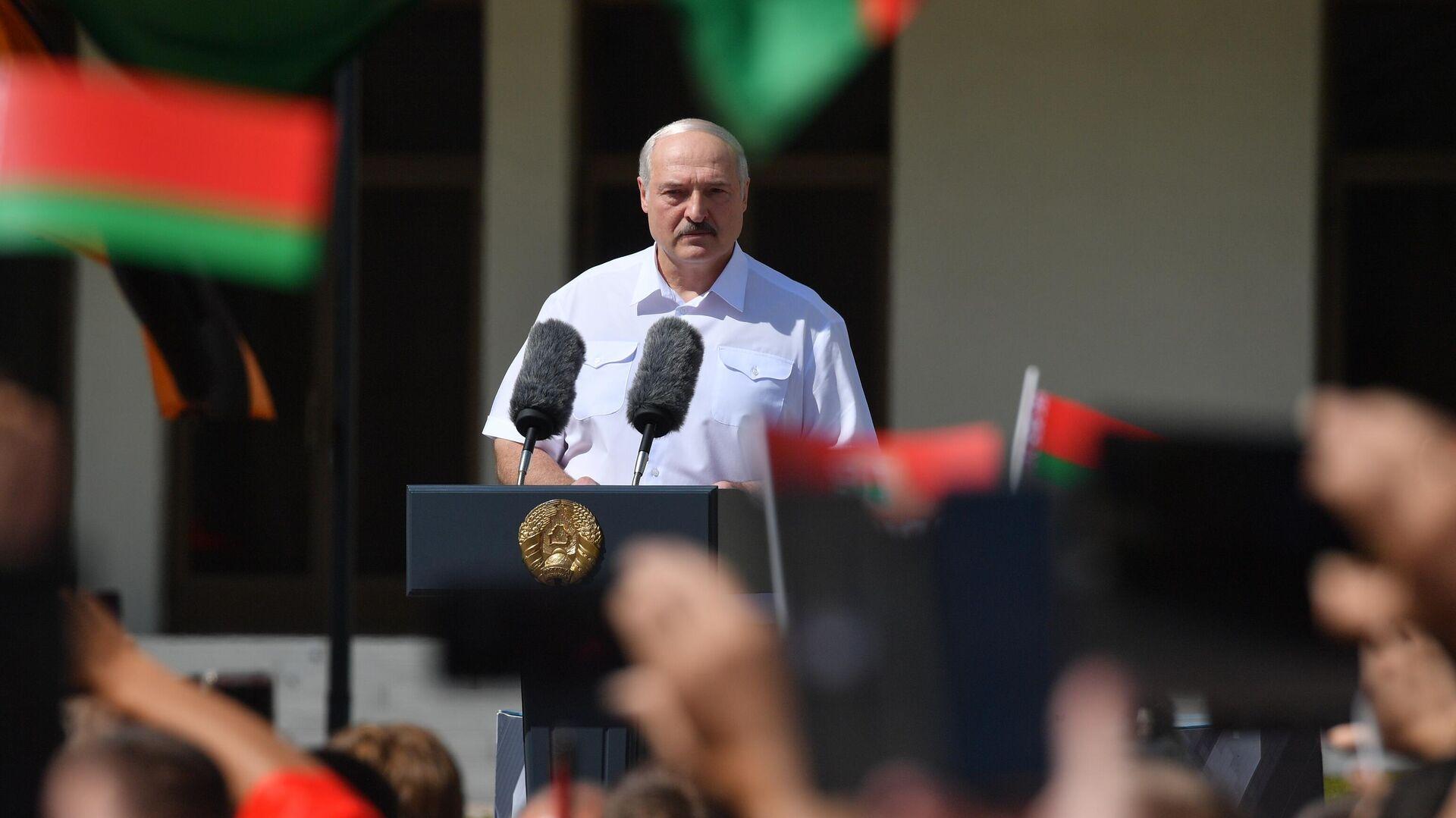 Президент Белоруссии Александр Лукашенко - РИА Новости, 1920, 23.08.2020