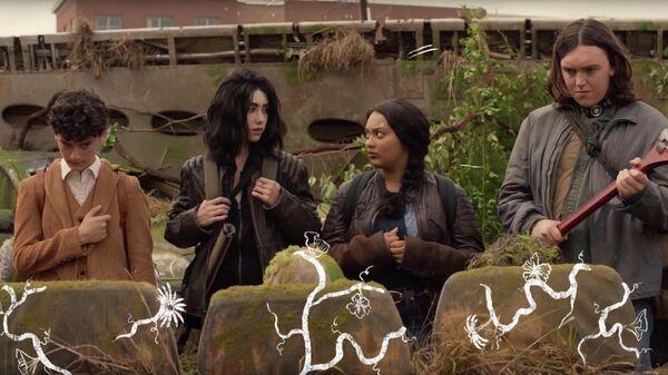 Скриншот сериала Ходячие мертвецы: Мир за пределами