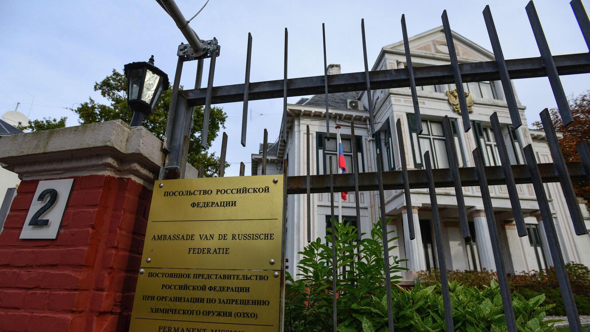 В России ответили на высылку двух дипломатов из Нидерландов