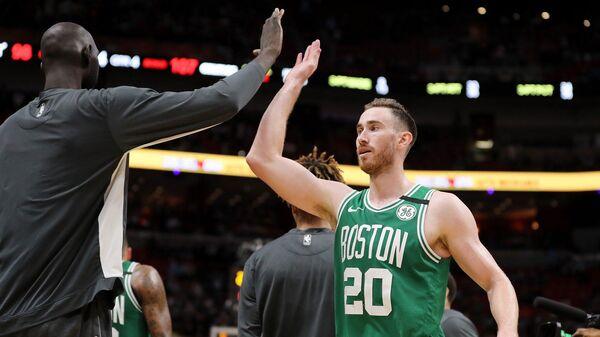 Баскетболист клуба НБА Бостон Селтикс Гордон Хэйуорд