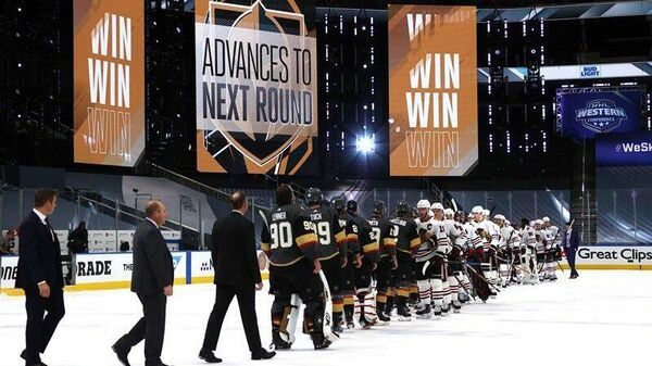 Матч НХЛ Вегас Голден Найтс - Чикаго Блэкхоукс