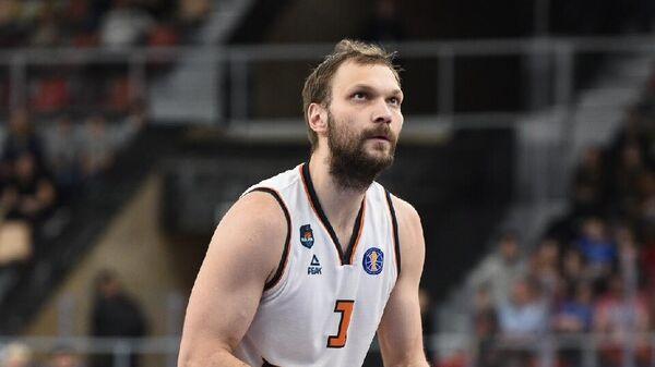 Баскетболист Пармы и сборной России Максим Григорьев