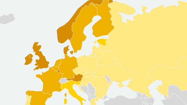 Рейтинг стран Европы по доступности бензина для населения
