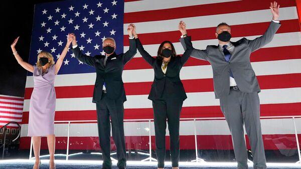 Съезд Демократической партии США в онлайн-режиме