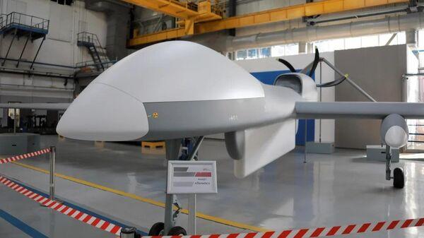 Макет беспилотного летательного аппарата Гелиос