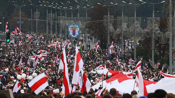Акция протеста в Минске. 23 августа 2020