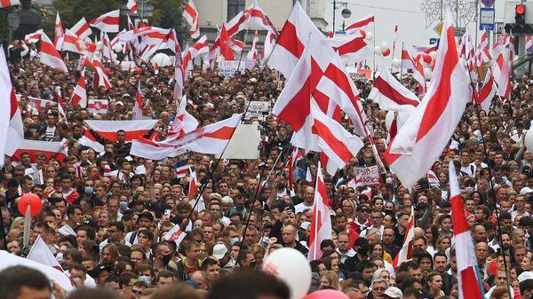 Акции протеста в Минске. 23 августа 2020