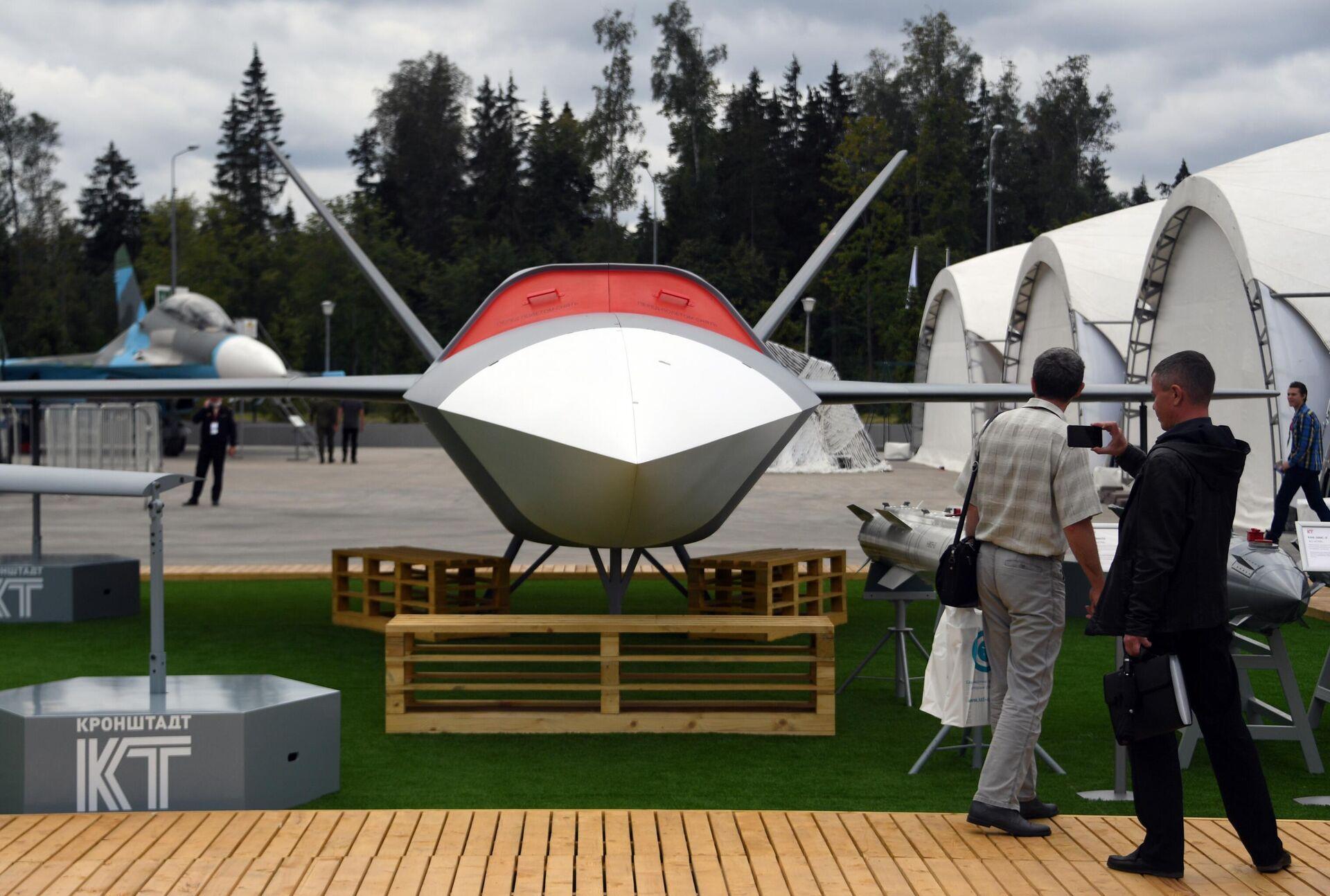 Беспилотный летательный аппарат Гром на выставке вооружений Международного военно-технического форума Армия-2020 - РИА Новости, 1920, 14.04.2021