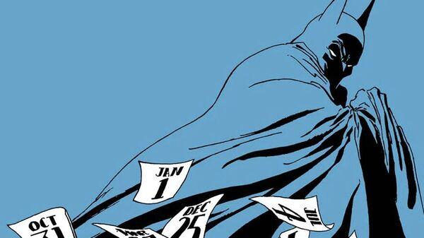 Иллюстрация из графического романа Бэтмен: длинный Хэллоуин